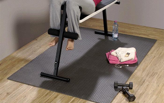 Fitness rohože, podlahy, podložky