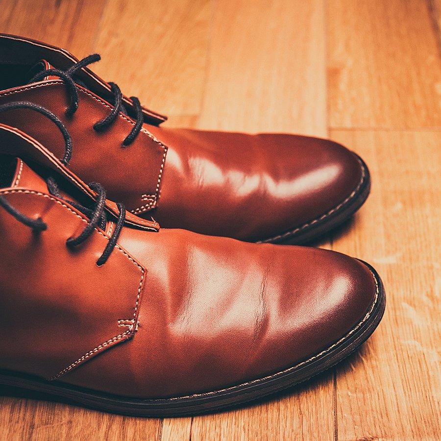 Očistění obuvi