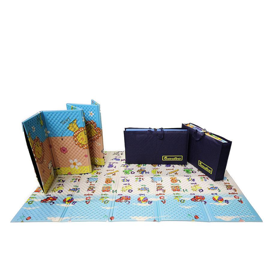 Dětská skládací pěnová hrací podložka Mariner, Casmatino - délka 200 cm, šířka 140 cm a výška 1 cm