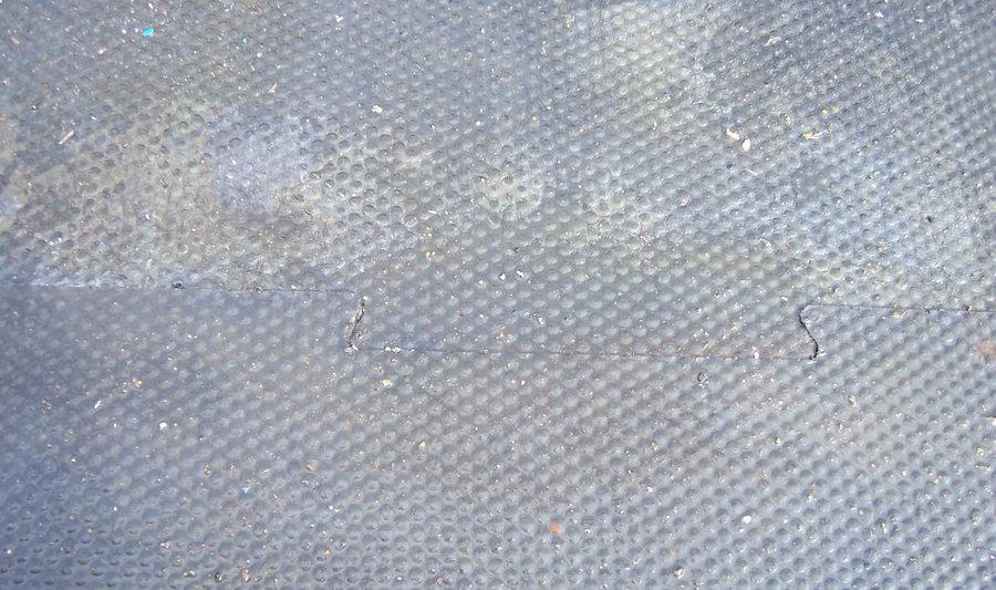 Plastová hladká kuličková puzzle podlahová deska - délka 116 cm, šířka 79 cm a výška 1,2 cm