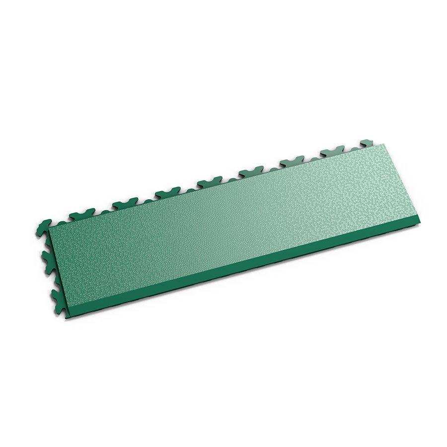 """Zelený vinylový plastový nájezd """"typ D"""" Invisible 2032 (hadí kůže), Fortelock - délka 46,8 cm, šířka 14,5 cm a výška 0,67 cm"""
