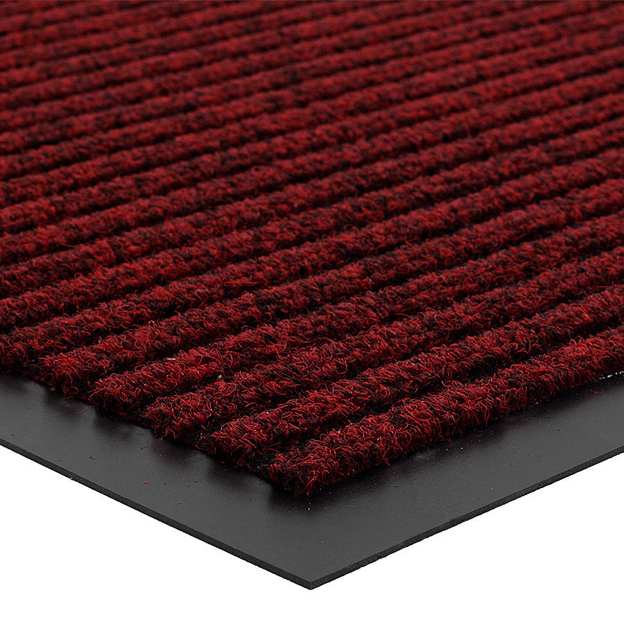 Červená vnitřní čistící vstupní rohož FLOMA Everton - délka 60 cm, šířka 80 cm a výška 0,6 cm