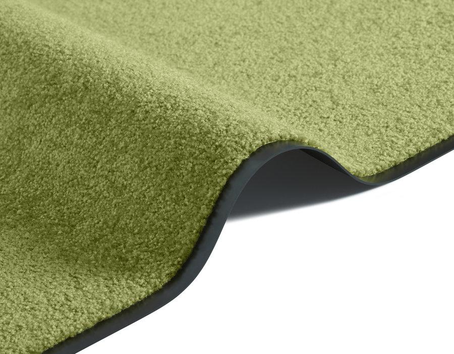 Zelený kusový koberec Wash & Clean