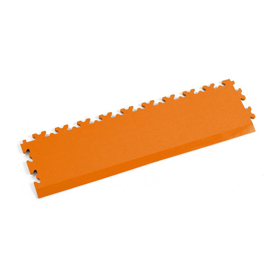 Oranžový vinylový plastový nájezd 2025 (kůže), Fortelock - délka 51 cm, šířka 14 cm a výška 0,7 cm