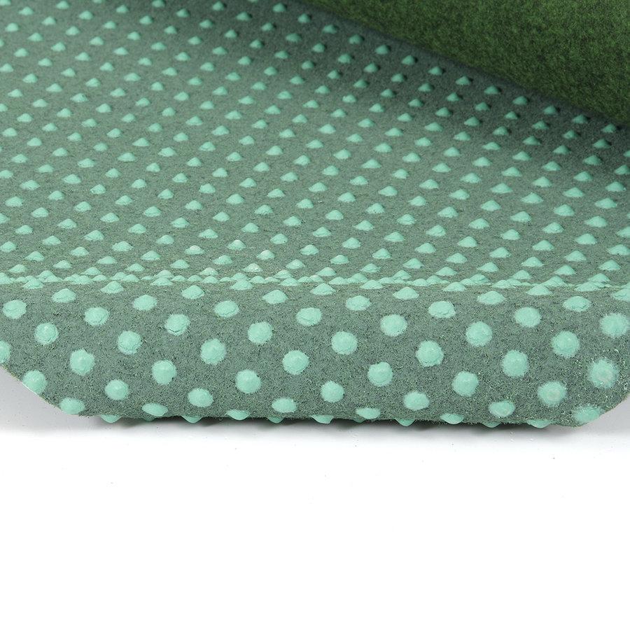 Zelený travní kusový koberec (s nopy) Basic - délka 200 cm, šířka 100 cm a výška 0,4 cm
