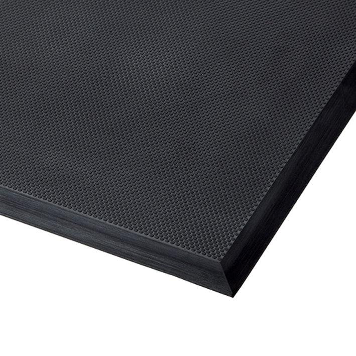 Černá polyuretanová protiúnavová průmyslová rohož ESD, Skywalker II PUR - výška 1,4 cm