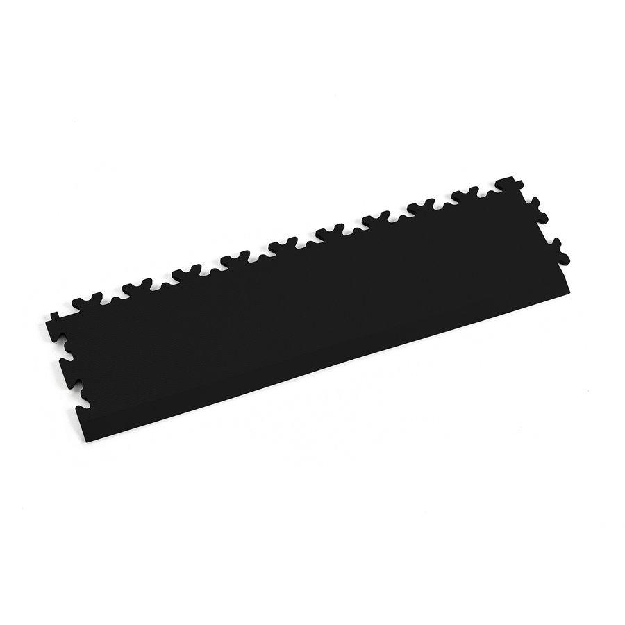 Černý vinylový plastový nájezd Fortelock 2025 (kůže) - délka 51 cm, šířka 14 cm a výška 0,7 cm