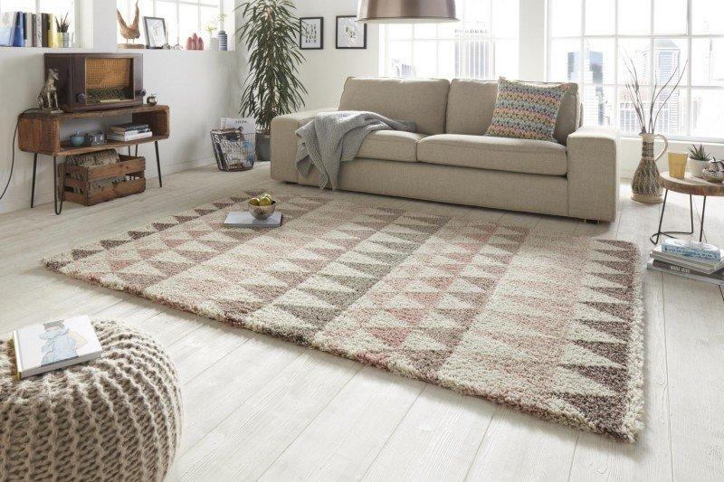 Různobarevný kusový moderní koberec Allure