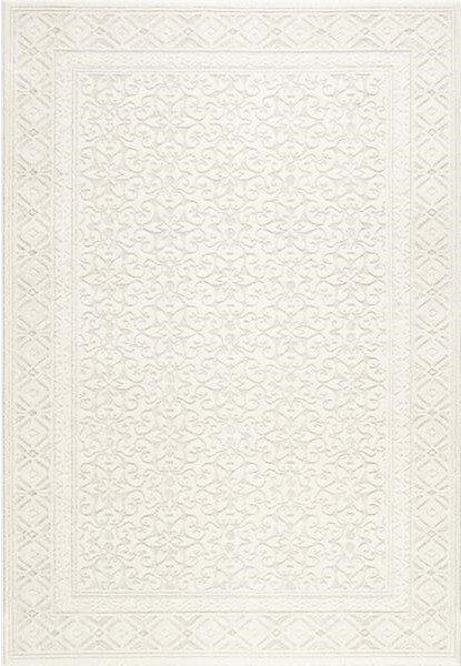 Béžový moderní kusový koberec Metro - délka 200 cm a šířka 135 cm