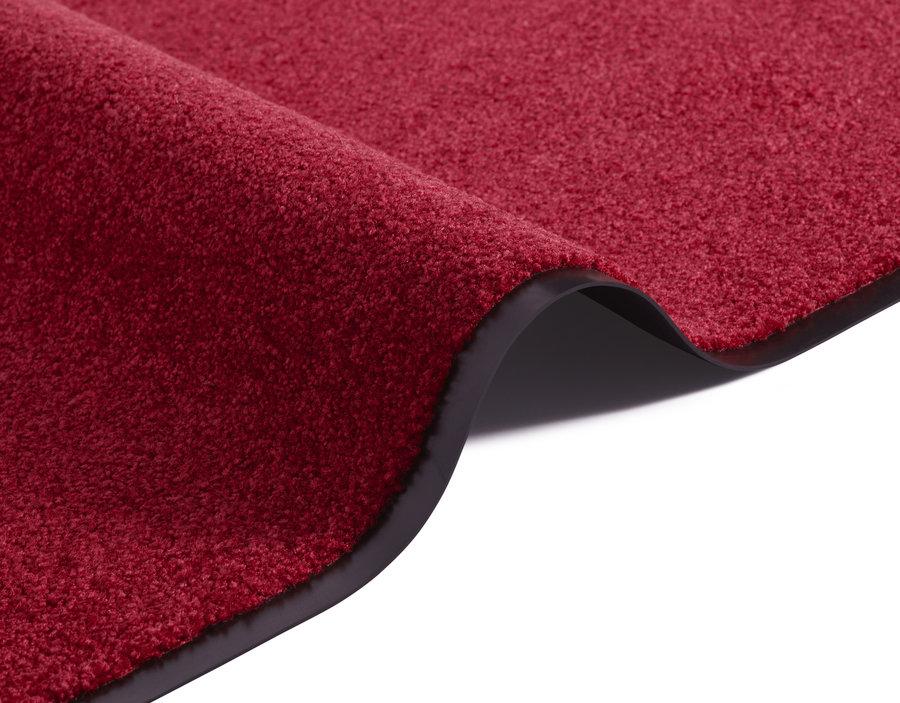 Červený kusový koberec Wash & Clean