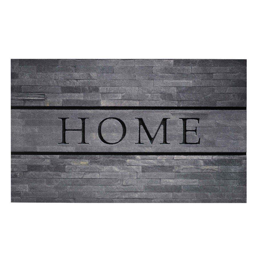 Venkovní čistící vstupní rohož FLOMA Residence Home Stones - délka 45 cm, šířka 75 cm a výška 0,9 cm