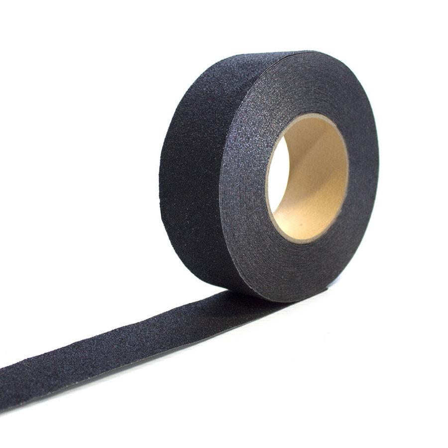 Černá korundová protiskluzová páska 02 - délka 18,3 m a šířka 2,5 cm