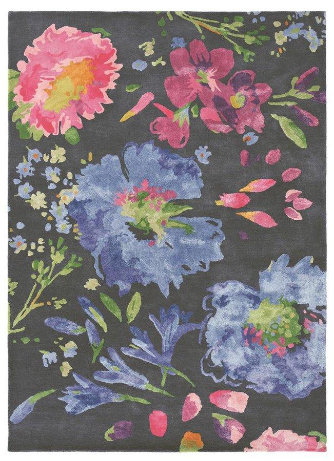 Různobarevný kusový moderní koberec Bluebellgray