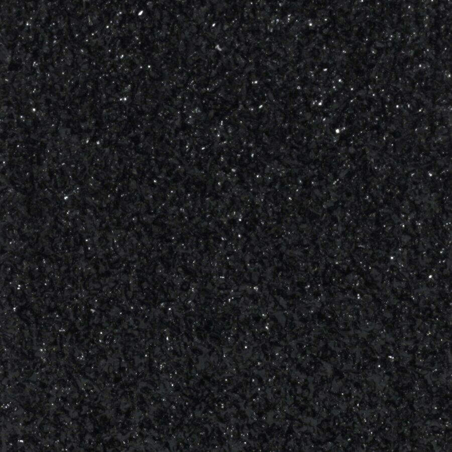 Černá korundová protiskluzová páska (pás) pro nerovné povrchy FLOMA Conformable - délka 15 cm, šířka 61 cm a tloušťka 1,1 mm