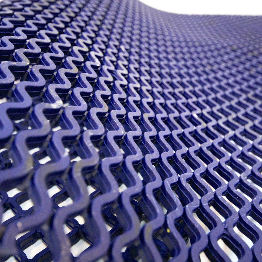 Modrá protiskluzová univerzální rohož - délka 9 m, šířka 100 cm a výška 0,85 cm