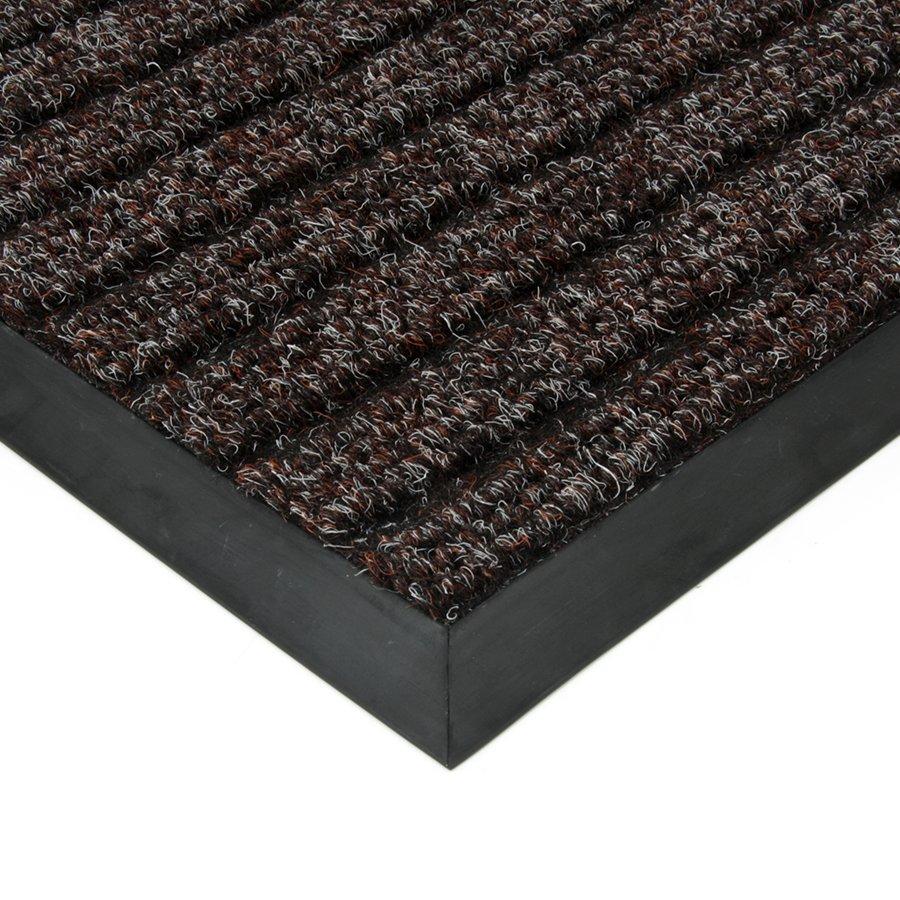 Hnědá textilní vstupní vnitřní čistící zátěžová rohož Shakira, FLOMA - délka 300 cm, šířka 400 cm a výška 1,6 cm