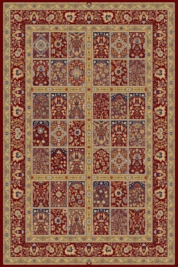 Červený orientální kusový koberec Diamond - délka 300 cm a šířka 200 cm