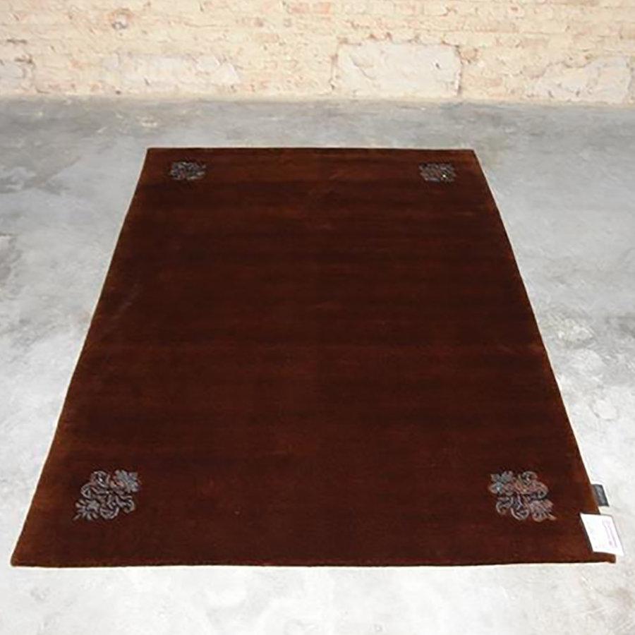 Hnědý luxusní kusový koberec Swarovski - délka 240 cm a šířka 170 cm