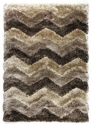 Hnědý kusový koberec Istanbul - délka 200 cm a šířka 140 cm