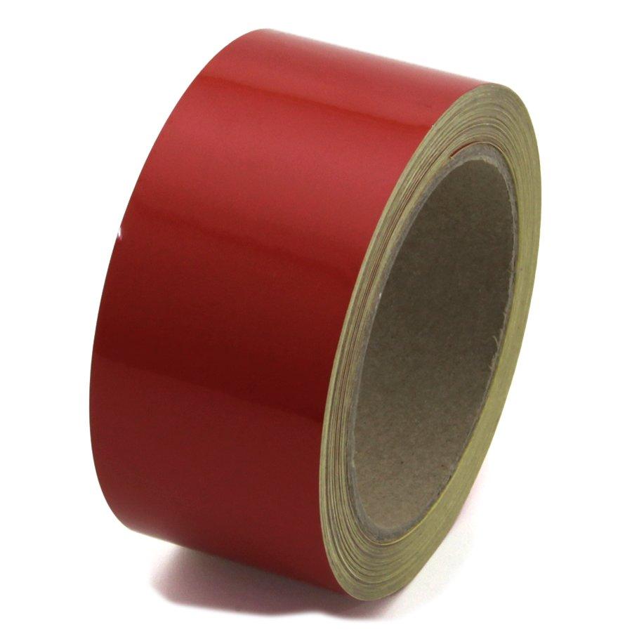 Červená reflexní výstražná páska - délka 15 m a šířka 5 cm