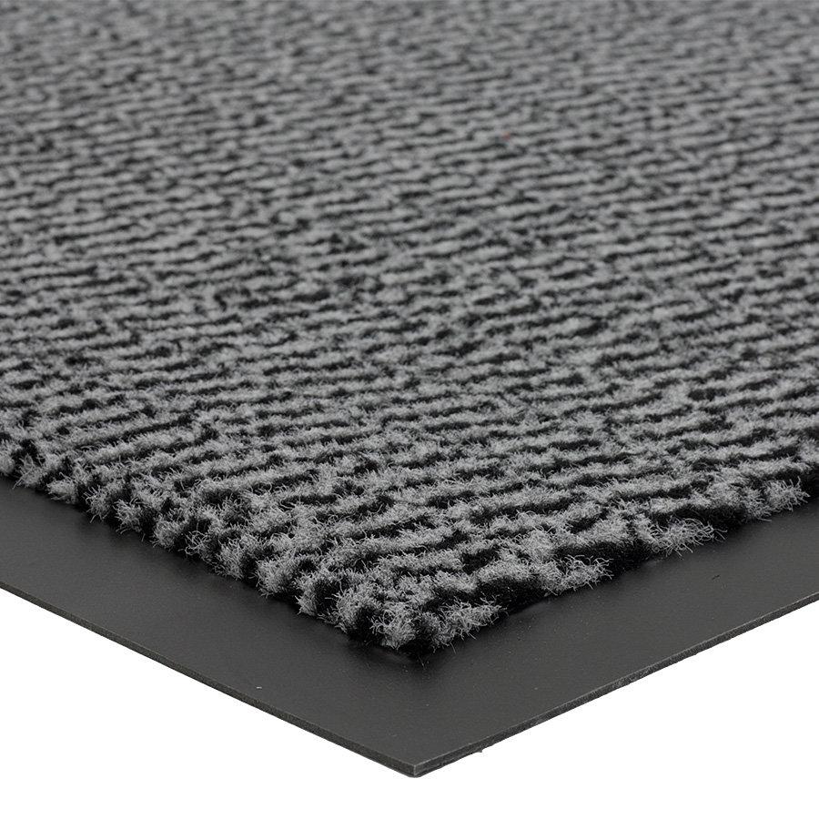 Šedá metrážová čistící vnitřní vstupní rohož Spectrum, FLOMA - délka 1 cm a výška 0,5 cm