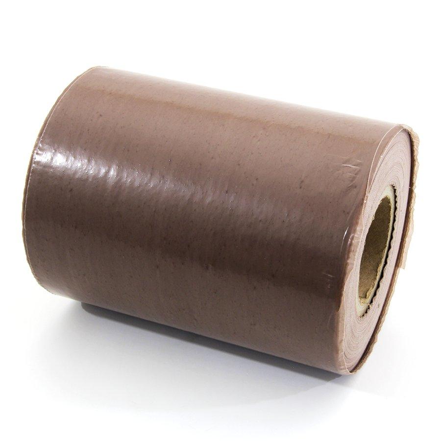 Hnědá výkopová páska - délka 250 m a šířka 22 cm