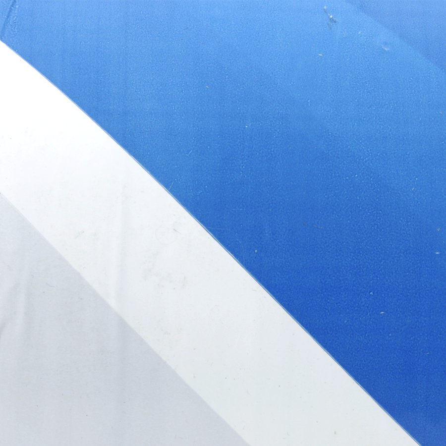 Bílo-modrá vytyčovací páska - délka 250 m a šířka 7,5 cm