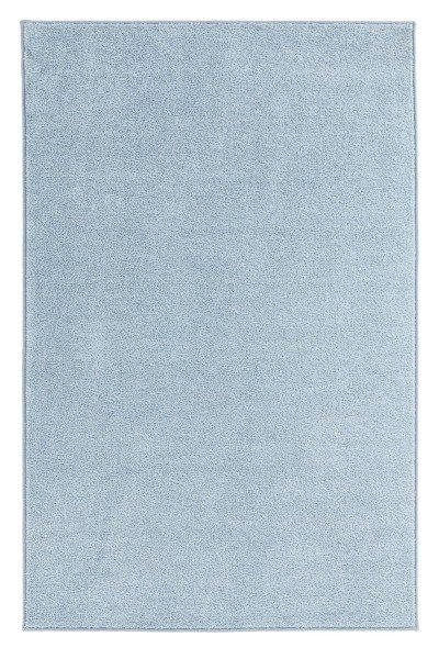 Modrý kusový koberec Pure - délka 150 cm a šířka 80 cm
