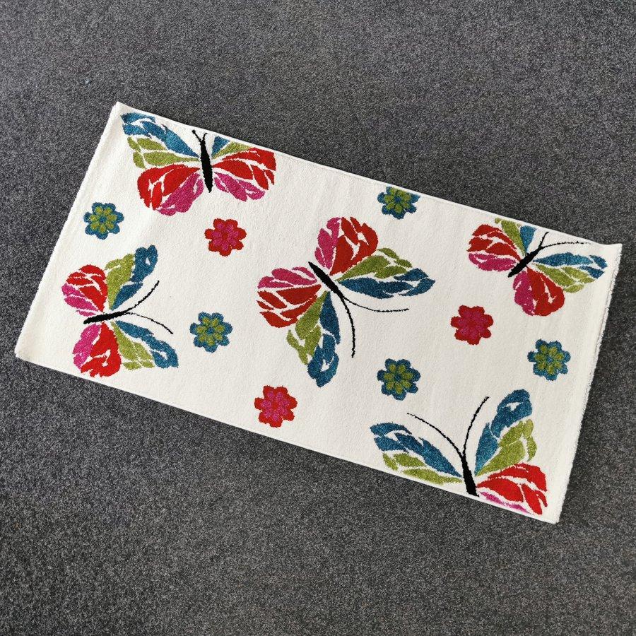 Různobarevný moderní kusový koberec - délka 150 cm a šířka 80 cm