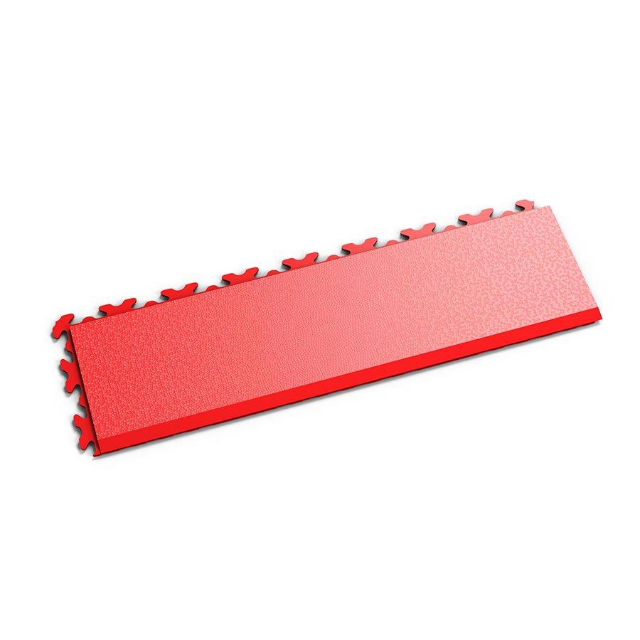 """Červený vinylový plastový nájezd """"typ D"""" Invisible 2032 (hadí kůže), Fortelock - délka 46,8 cm, šířka 14,5 cm a výška 0,67 cm"""