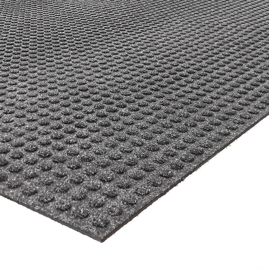 Černá textilní extra odolná zátěžová čistící rohož Lift Truck, FLOMA - délka 115 cm, šířka 180 cm a výška 0,63 cm
