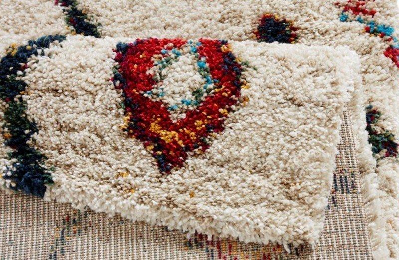 Různobarevný moderní kusový koberec Nomadic - délka 150 cm a šířka 80 cm
