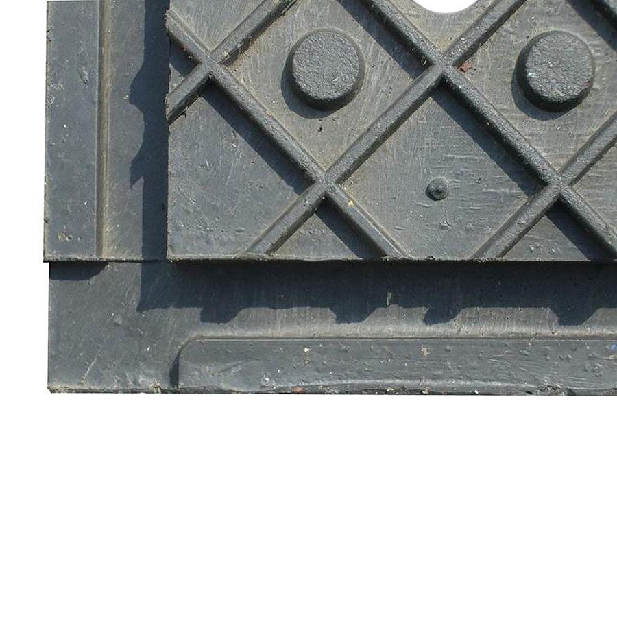 Plastová děrovaná podlahová deska - délka 120 cm, šířka 80 cm a výška 4,3 cm