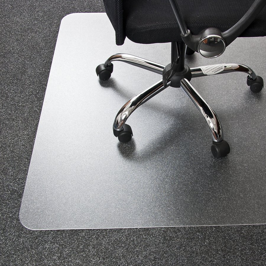 Univerzální podložka pod židli FLOMA - délka 120 cm, šířka 100 cm a výška 0,2 cm