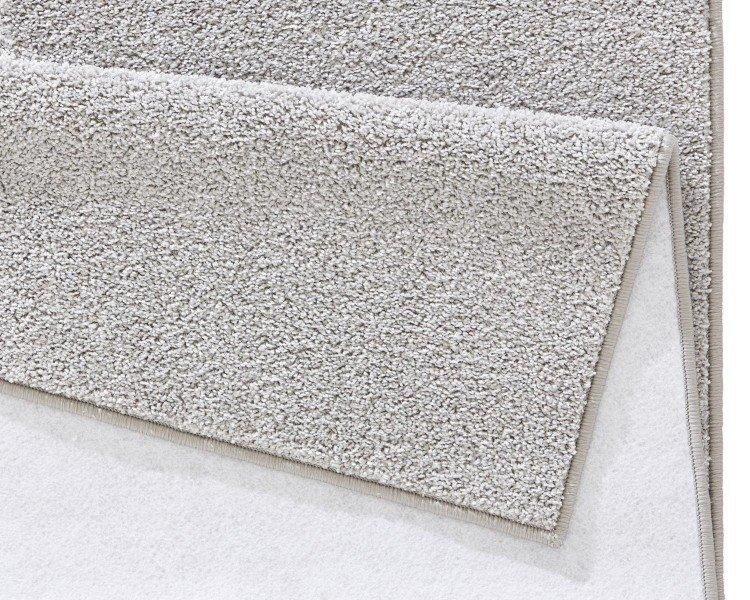 Šedý kusový koberec Pure - délka 200 cm a šířka 80 cm