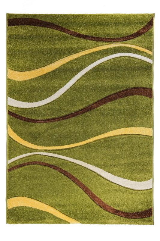 Zelený kusový koberec Joy De Luxe - délka 230 cm a šířka 160 cm