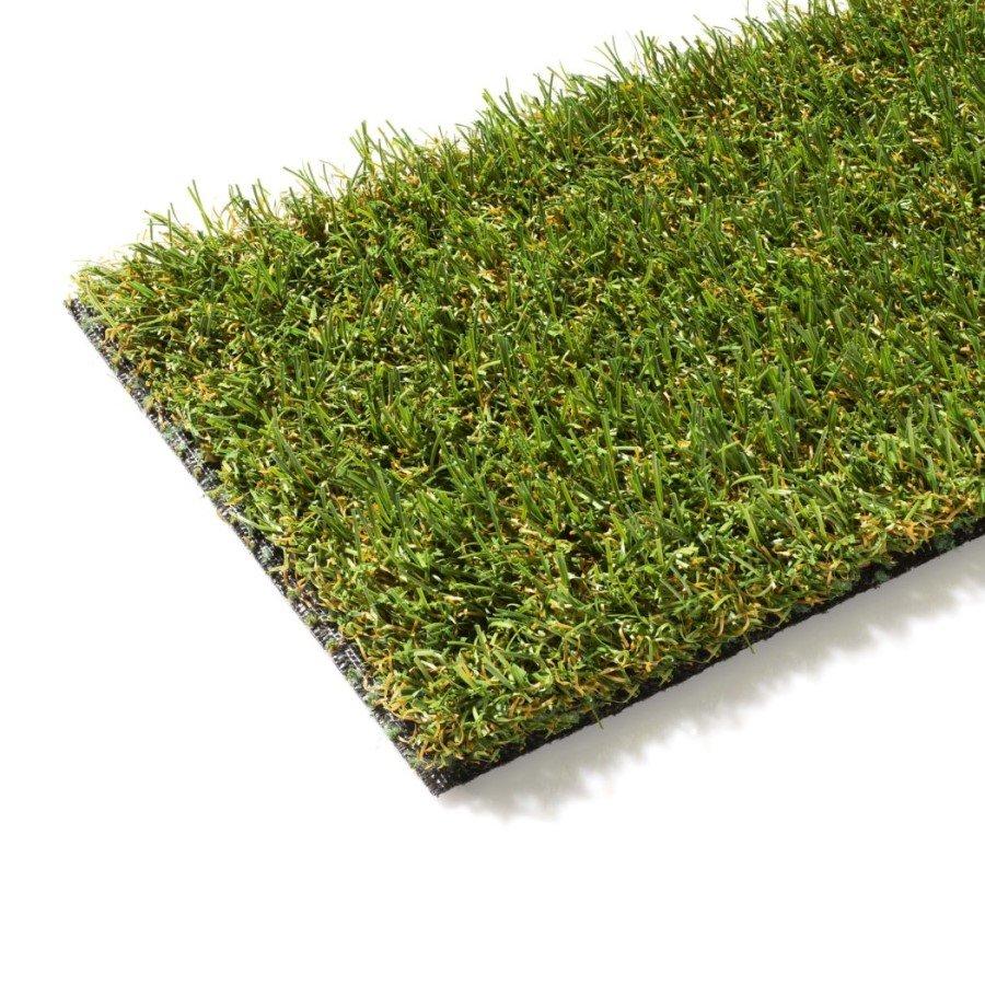 Zelený metrážový umělý trávník Fiorentina, FLOMA - délka 1 cm a výška 2,5 cm
