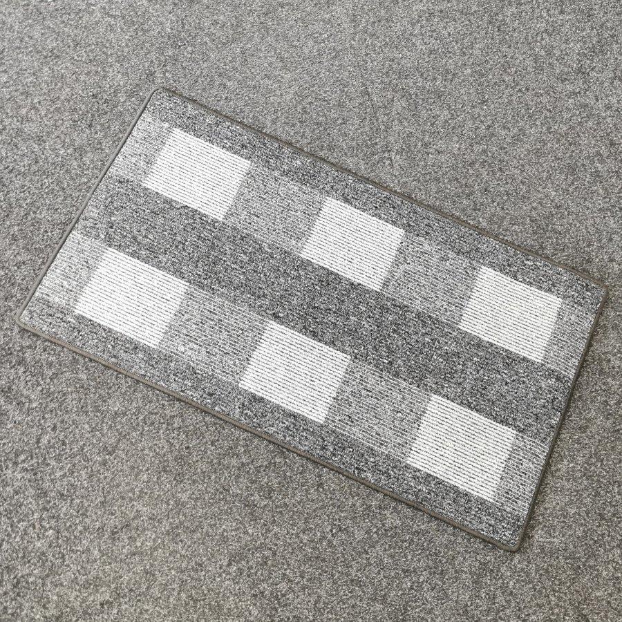 Šedý kusový koberec Dijon - délka 120 cm a šířka 67 cm