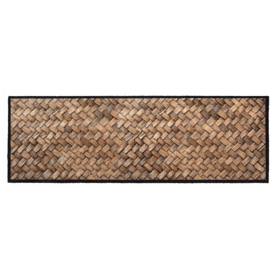 Vnitřní čistící pratelná vstupní rohož FLOMA Prestige Wicker - délka 50 cm a šířka 150 cm