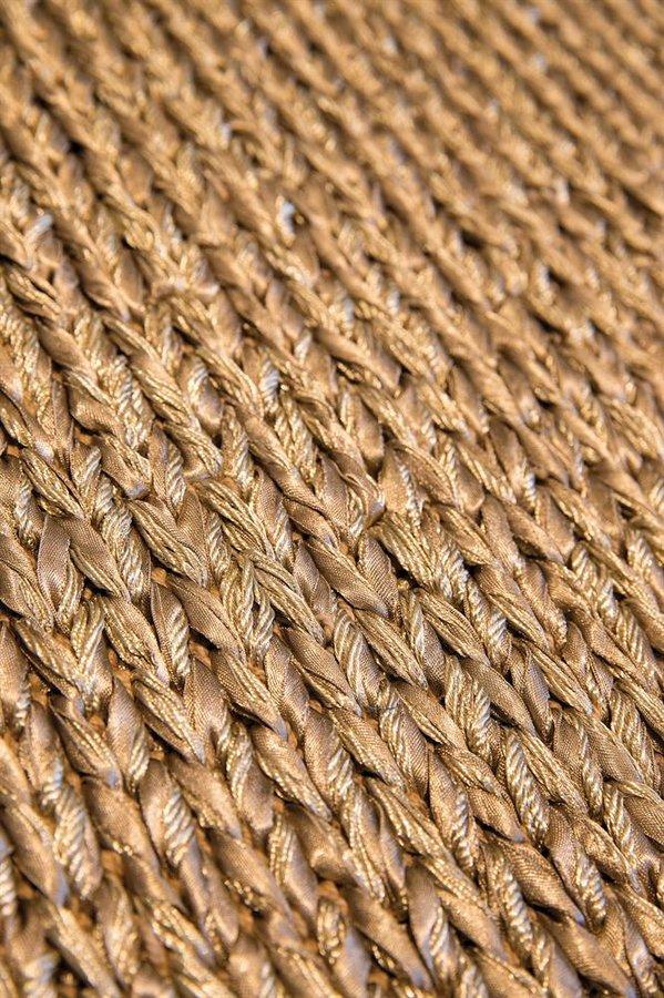 Zlatý moderní kusový koberec Marquise - délka 230 cm a šířka 160 cm