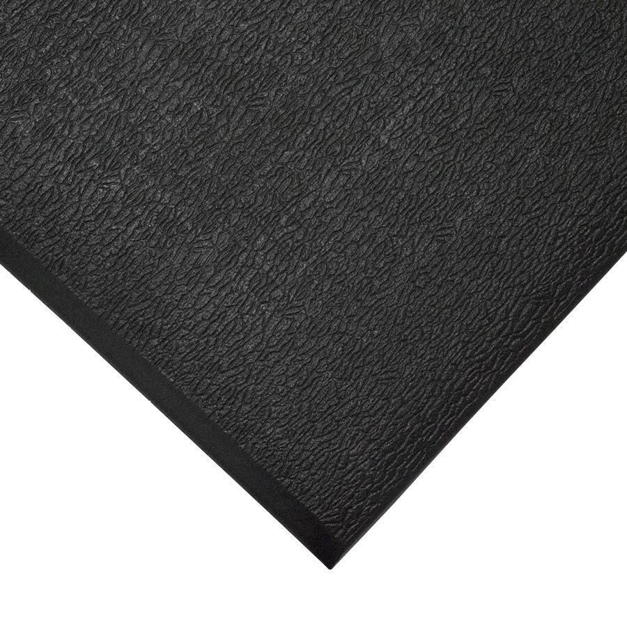 Černá gumová protiskluzová protiúnavová průmyslová rohož - šířka 90 cm a výška 0,6 cm