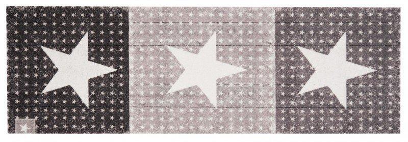 Šedý moderní kusový bytový koberec Cook & Clean - délka 140 cm a šířka 45 cm