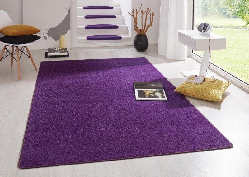 Fialový kusový koberec Fancy - délka 280 cm a šířka 200 cm