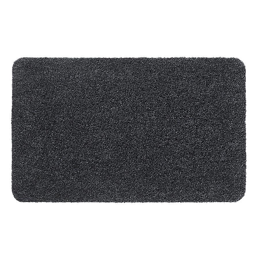 Antracitová čistící vnitřní vstupní pratelná rohož Aqua Luxe, FLOMA - výška 1,2 cm