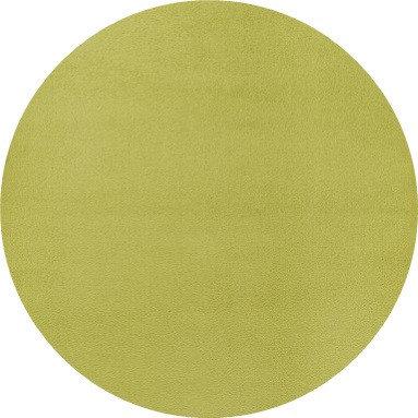Zelený kusový kulatý koberec Fancy - průměr 200 cm