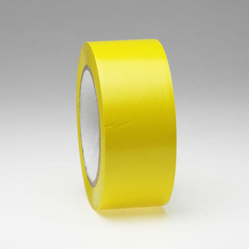 Žlutá podlahová vyznačovací páska - délka 33 m a šířka 5 cm