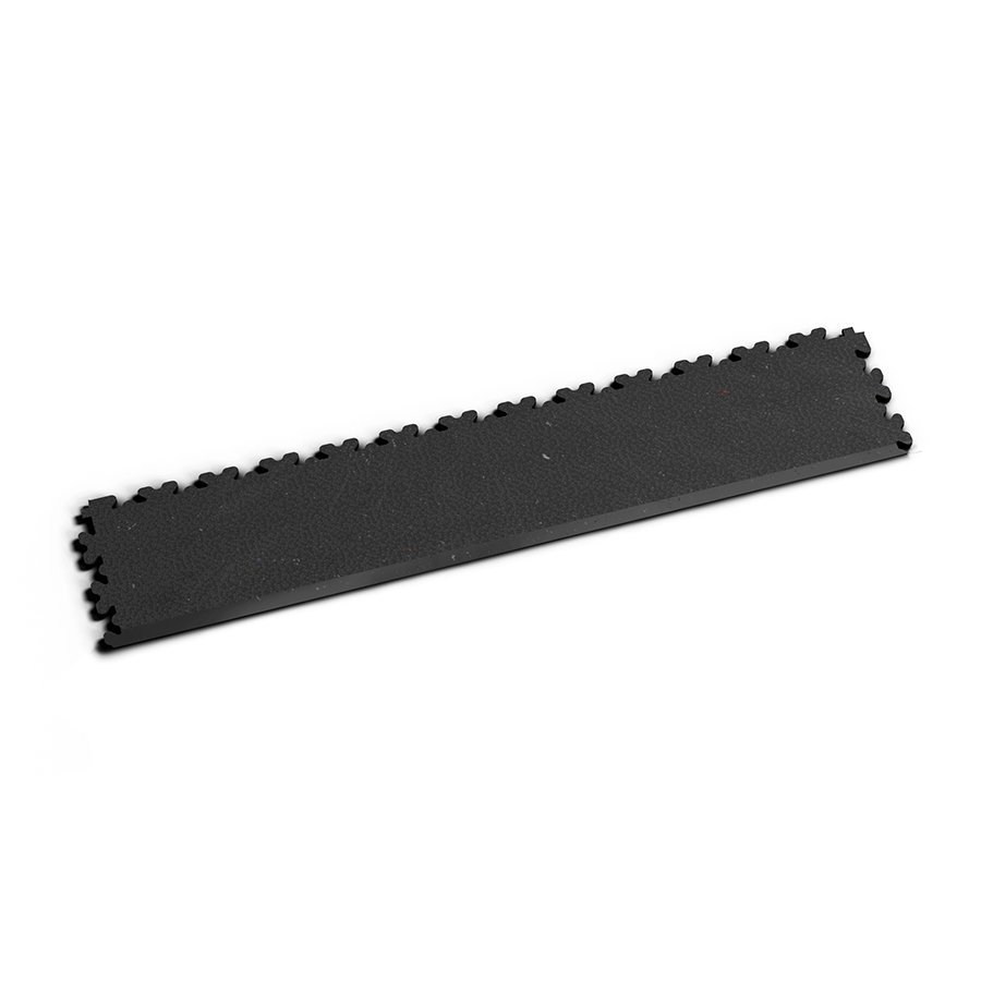 Černý vinylový plastový zátěžový nájezd Fortelock XL Eco 2230 (hadí kůže) - délka 65,3 cm, šířka 14,5 cm a výška 0,4 cm