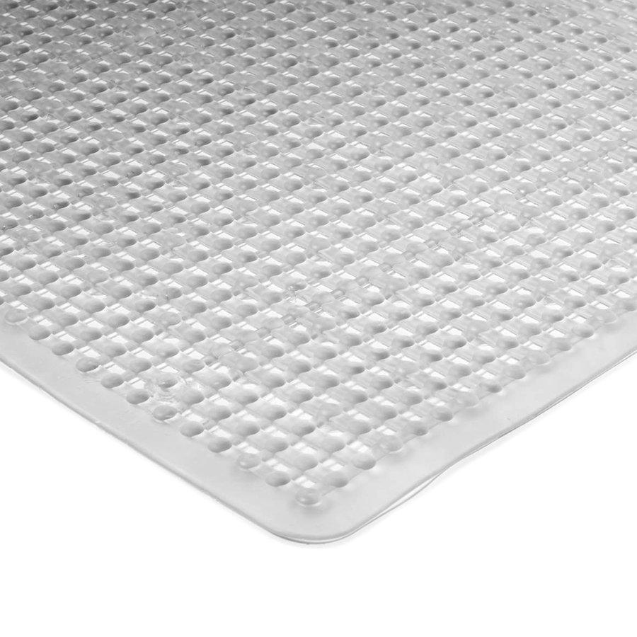 Perleťová protiskluzová koupelnová vanová rohož FLOMA - délka 75 cm a šířka 35 cm