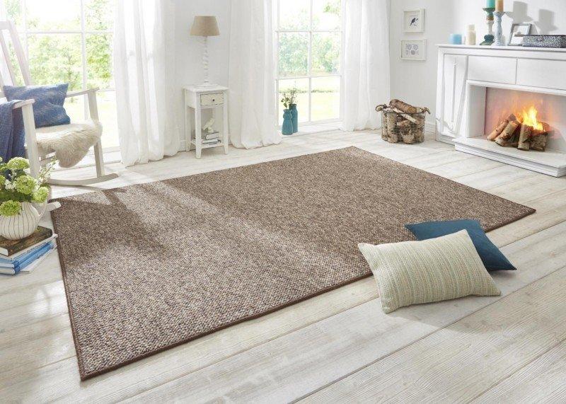 Hnědý kusový moderní koberec Wolly - délka 300 cm a šířka 200 cm
