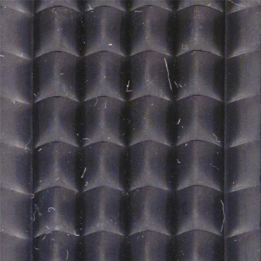 Gumová hliníková kartáčová venkovní vstupní rohož Alu Extra, FLOMA - délka 100 cm, šířka 100 cm a výška 2,7 cm